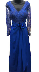 PLUS SIZE MOTHER of the BRIDE GROOM DRESS FORMAL EVENING LONG SLEEVE ...