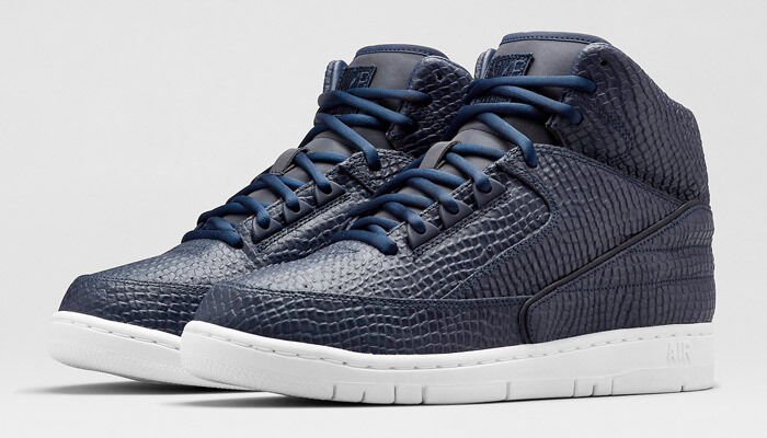BRAND NEW Mens Lab Air Python SP Obsidian Snakeskin 658394-400 Sneakers SIZE 8.5