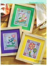 A Breath of Fresh Air - by Karen Brittan Cross Stitch pattern from magazine.