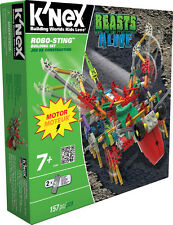 K'Nex Robo Building Set Robo Sting 157 Parts With Motor