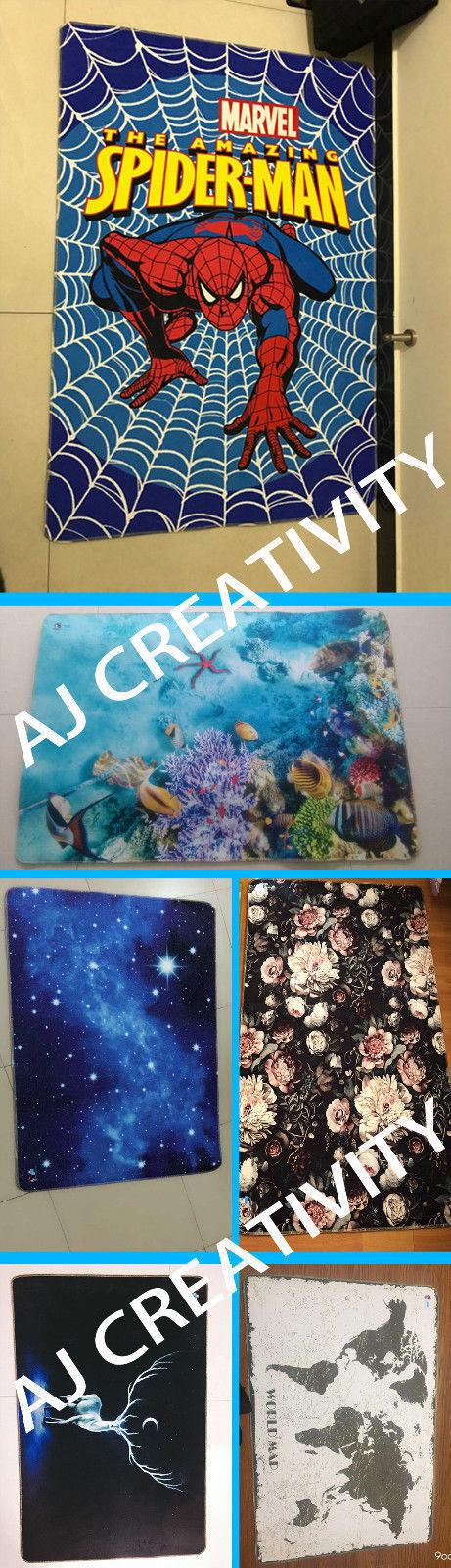 3D Ocean Map 22 22 22 Non Slip Rug Mat Room Mat Quality Elegant Photo Carpet US Summer 1215f3