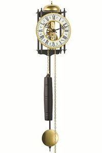 Hermle Wall Clock Mechanical 8 Day Movement Skeleton Clock