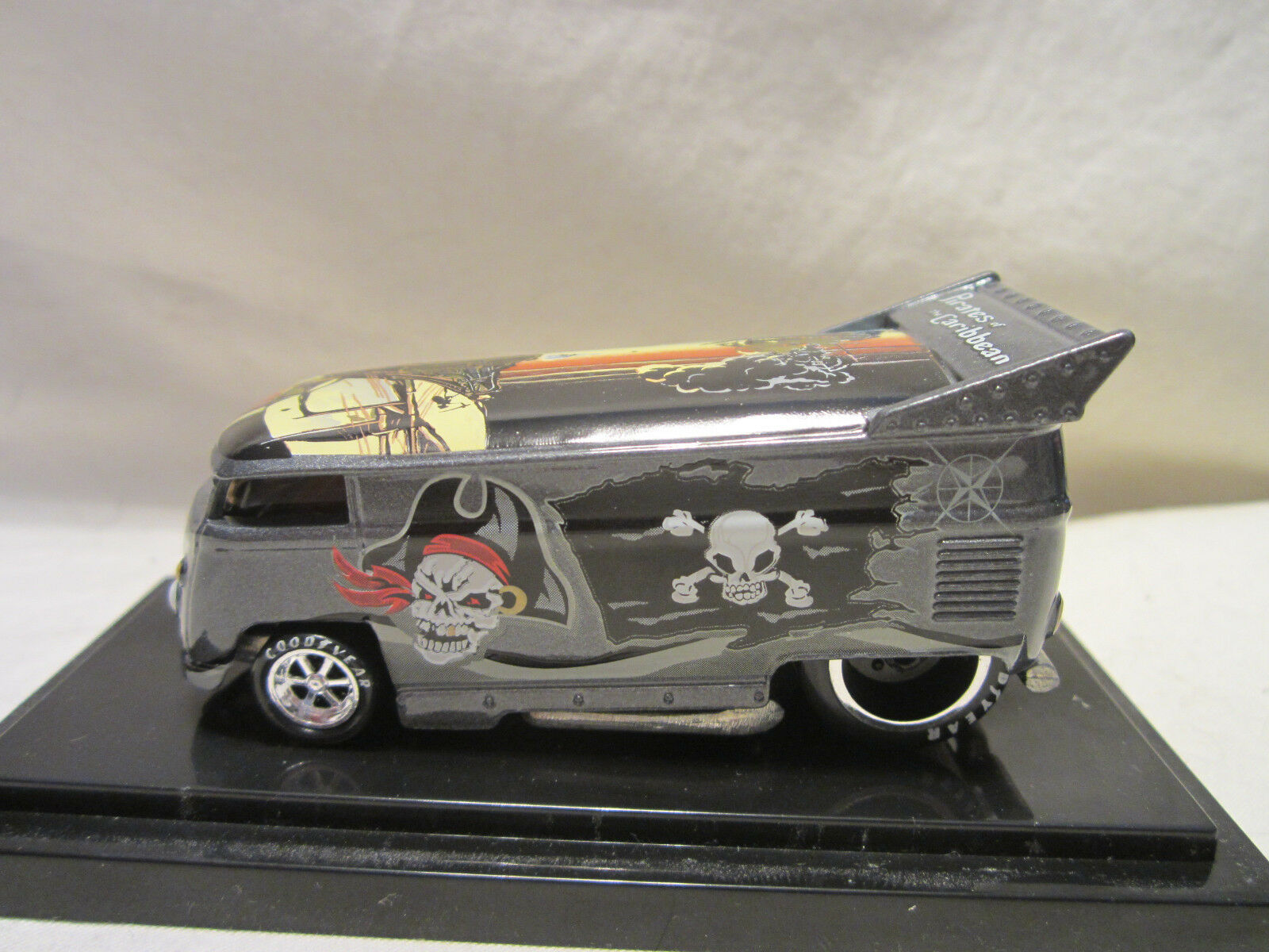 Hot wheels freiheit promotions piraten karibik vw bus 210   1300 ziehen.