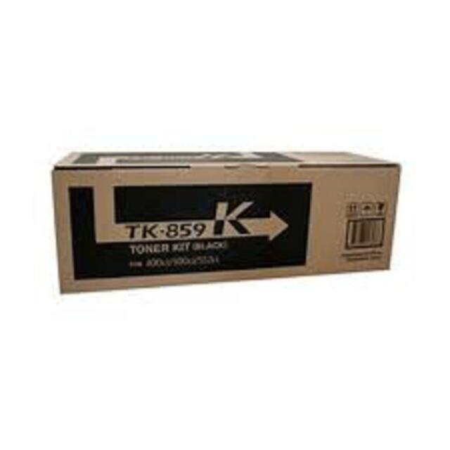 Genuine KYOCERA TK-859 K BLACK Toner Cartridge for 400ci 500ci 552ci TK-859K