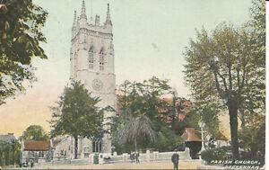 PC25947 Parish Church. Beckenham. Kent. No 184. 1906