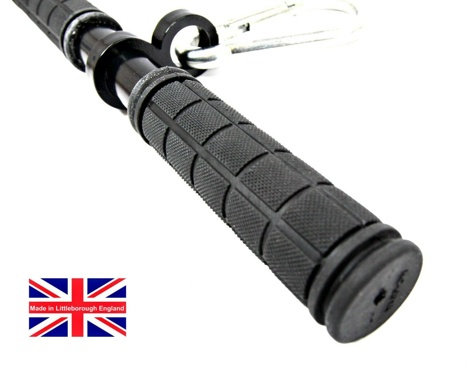 Zip Line Wire Handlebars 22mm Rubber Grip Grip Grip With Carabina bb4934