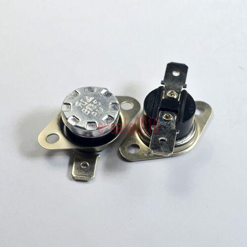 2pcs KSD301 NC 135°C UL Thermostat Temperature Control Switch Bimetal Disc N.C