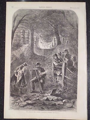 OYSTER CANNING WOMEN AT WORK CANNING MINE OYSTERS 1872 HARPER/'S WEEKLY OYSTER