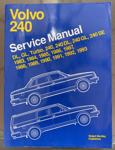 Volvo 240  1983-1993  Factory Service Manual