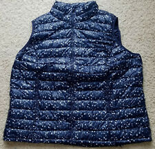 014ad65ee96 item 4 WOMAN WITHIN NAVY FLORAL PACKABLE PUFFER VEST WOMEN S PLUS SIZE 3X  30 32  NIP!  -WOMAN WITHIN NAVY FLORAL PACKABLE PUFFER VEST WOMEN S PLUS  SIZE 3X ...