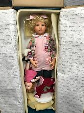 Hildegard Günzel Resin Puppe Ella 76 cm. Top Zustand