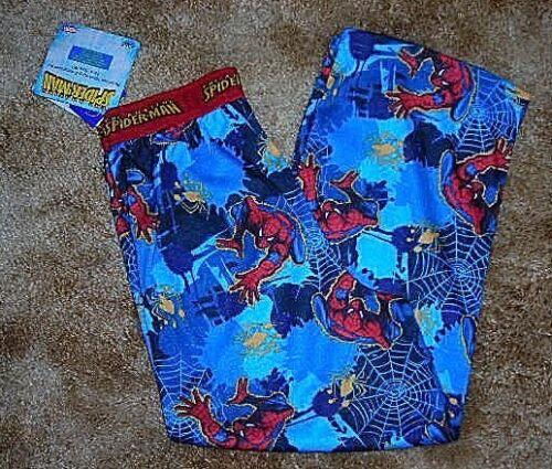 $20~NWT Boys Marvel Spiderman SleepPants~S 4-5 6~8 ,Med