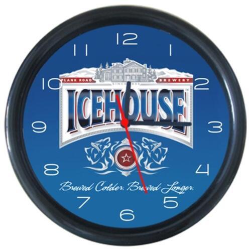Icehouse Patten #1Cola Beer Beverage Bar Pub Club Round Wall Clock