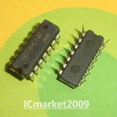 5PC HD74HC14P Inline DIP-14 Six Inverter RENESAS Renesas