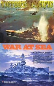 Avalon Hill Victory in the Pacific War at Sea Collection PDF Reference Disc