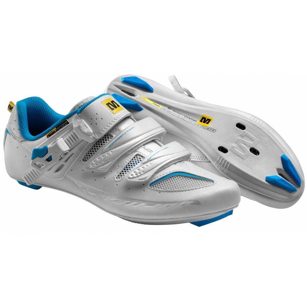 Mavic Ksyrium Elite Women's Road Cycling shoes. Colour  White bluee. Size  7.5