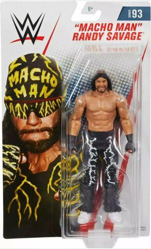 Macho Man RANDY SAVAGE WWE Mattel Basic Chase Series 93 Wrestling Figure DMG PKG
