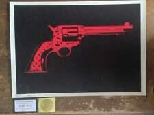 DEATH NYC sérigraphie signée-num +COA - no banksy/dolk/hush/imbue/fairey/invader