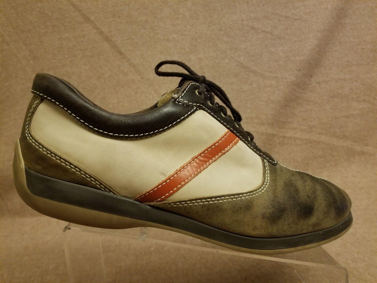 Allen Edmonds Nomad Men Brown Leather Dress Sports Casual Walking shoes Sz 12 B