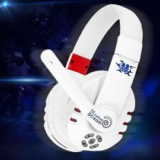 Wireless PC PS3 Stereo Bluetooth 4.0 Gaming Headphone Headset Bass Mic HiFi 8U1J