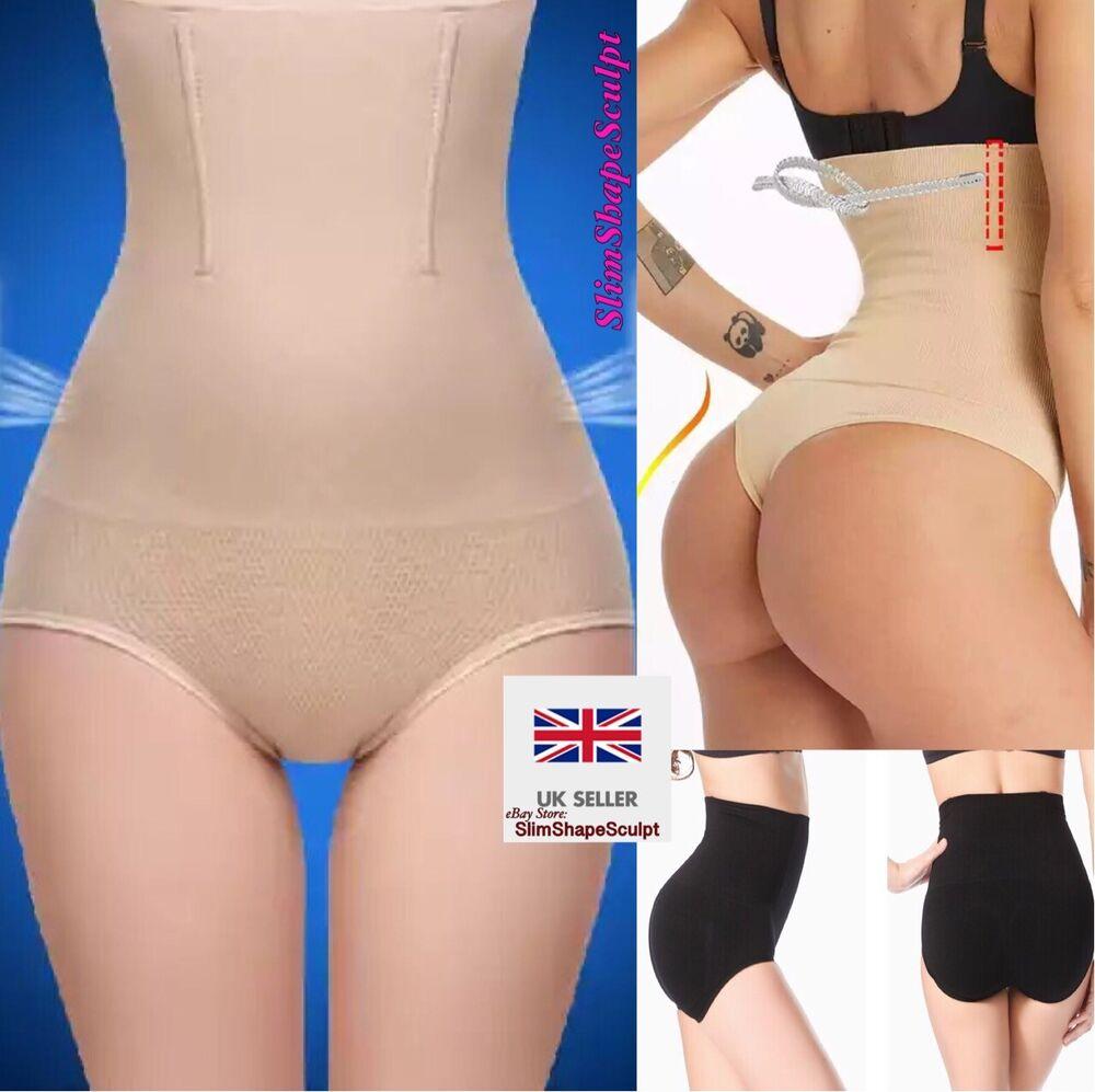 Mesdames Pull You Me En Pantalon Minceur Taille Haute Slips Culottes String Pour Femmes