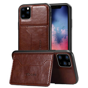 Wallet Case Ultra-Thin for Apple iPhone 11 X XR XS Max 6 6s 7 8 Plus Kickstand