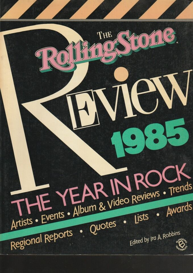 The Rolling Stone Review 1985 - the year in rock, Ira A.