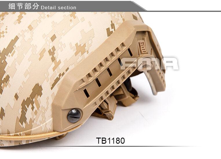 FMA Airsoft mich aor1 Devgru  AOR1 MH Type Maritime Helmet TB1180  retail stores