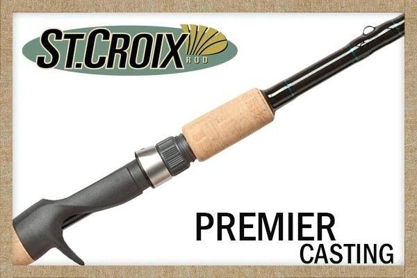 St. Croix Premier Casting Rod, All Models   100% genuine counter guarantee