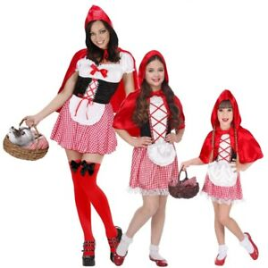 zarte Farben Vielzahl von Designs und Farben letzter Rabatt Rotkäppchen Partner Kostüm für Damen Mädchen Kleinkinder ...