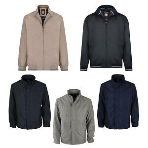 Kam-para-hombre-de-gran-tamano-chaquetas-Casual-Negro-Azul-Marino-Topo-Abrigo-M-8XL