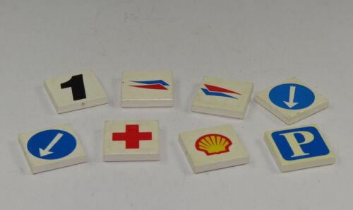 LEGO Bausteine & Bauzubehör LEGO® City Fliesen Kacheln Krankenhaus Parkplatz Tankstelle Fliese 8 Stück 3068B LEGO Bau- & Konstruktionsspielzeug