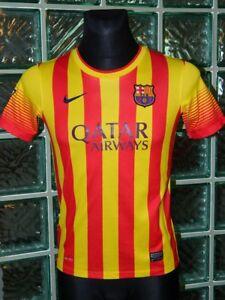 4eb144eaeff 4.5 5 Barcelona boys 12 13 years football shirt jersey trikot soccer ...