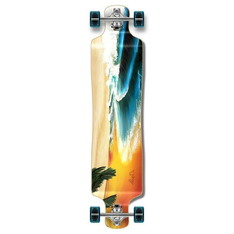 Yocaher Lowrider Beach Longboard Complete