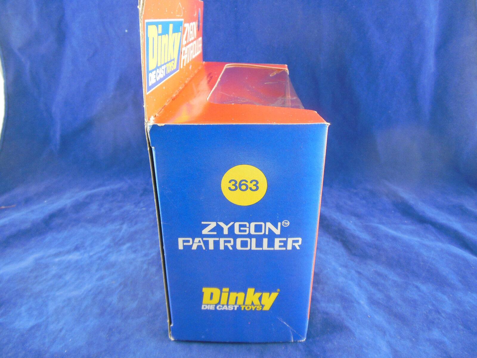 VINTAGE Dinky Toys 363 ZYGON ZYGON ZYGON Patroller con tagliato STAZIONE SPAZIALE 7db525