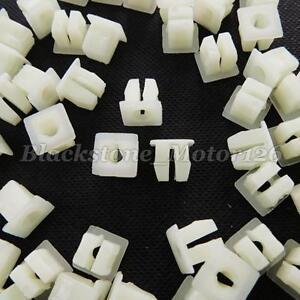 100 Headlight Bezel Nut #6 Screw Grommet Clip A12735 For VW For Chrysler For GM
