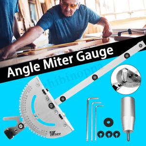 Winkel-Gehrung-Anschlag-Parallelanschlag-Winkel-Messer-Sucher-Tischsaege-Router