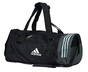d50b62ab19 Adidas CVRT 3S Training Medium Duffle Bags Black Running Cross Bag ...