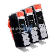 3 BLACK 564 564XL New Ink Cartridge for HP PhotoSmart 7525 B210 C310 C410 C6340