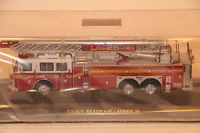 """Code 3 FDNY LADDER 26 """"FIRE FACTORY"""" NEW IN COLLECTORS TIN!!"""