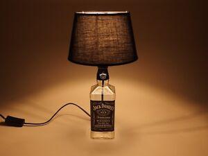 jack daniels flaschen lampe tischlampe led 220v mit schalter originell s2 0 7l ebay. Black Bedroom Furniture Sets. Home Design Ideas