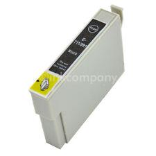 1 Tintenpatrone Druckerpatrone kompatibel zu EPSON T0711 XL BLACK BK mit Chip