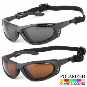 ebfccc81bf Image is loading Men-039-s-POLARIZED-Wind-Resistant-Padded-Motorcycle-