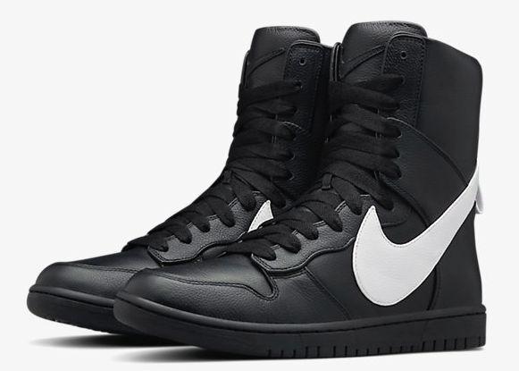 Nike laboratorio schiacciare lux alto x riccardo tisci givenchy 841647-010 limitate dimensioni