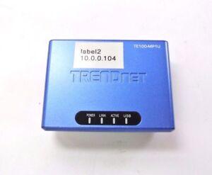 Trendnet-TE100-MP1U-Print-Sever-No-Adapter