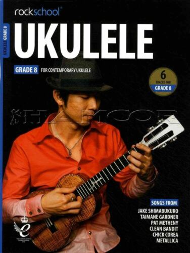Rockschool Ukulele Grade 8 from 2020 TAB Music Exam Book//Audio SAME DAY DISPATCH
