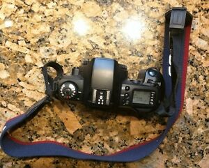 Canon Eos Rebel G Camera Body Strap Tested Working Clean Film 35mm Digital Moter