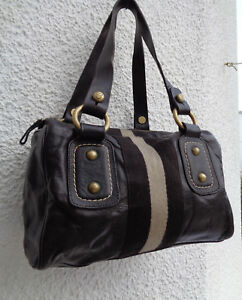 À Bag Vintage amp; Authentique Cuir En Sac Tbeg Bally Main Szq4xdwA