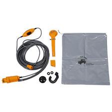 Soffione doccia portatile elettrica auto campeggio 12v C1M2