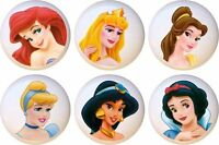 Set Of 6 Disney Princess Face Ceramic Drawer Pulls Dresser Drawer Cabinet Knobs